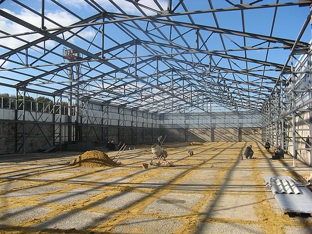 Строительство зернохранилищ в  Харькове