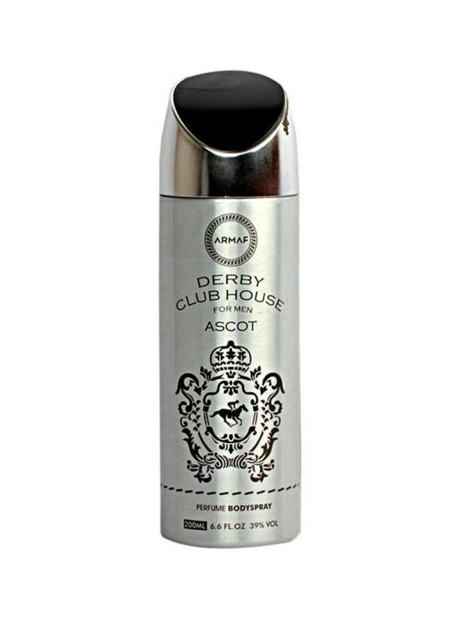 Vanity Femme Derby Club House for men Ascot Body Spray 200 ml