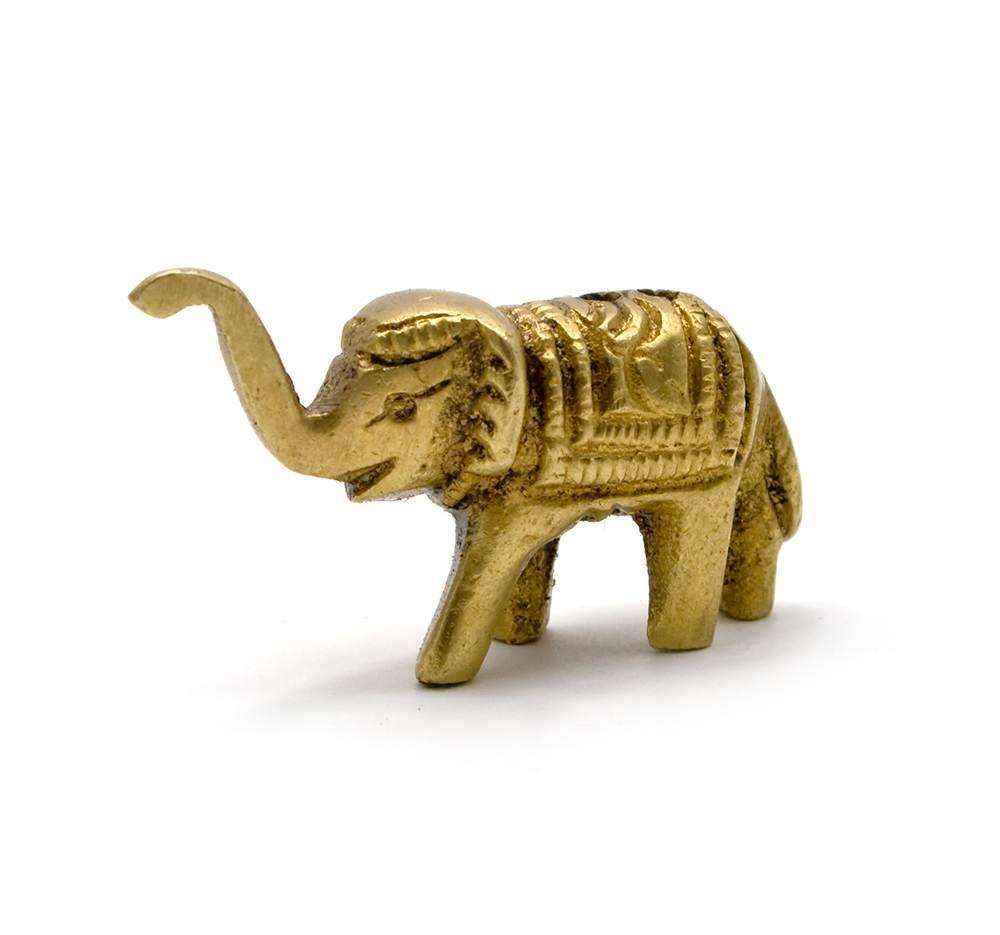 """Подставка под благовония """"слон"""" бронза (4х2,5х1,5 см)"""