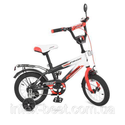 """Двухколесный велосипед Profi Inspirer 12"""" Красный (G1255)"""