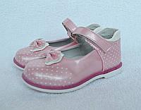 Туфли для девочки. ТМ Шалунишка Ортопед. 25-30 размер. Каблук Томаса, супинатор. Модель 500-119.