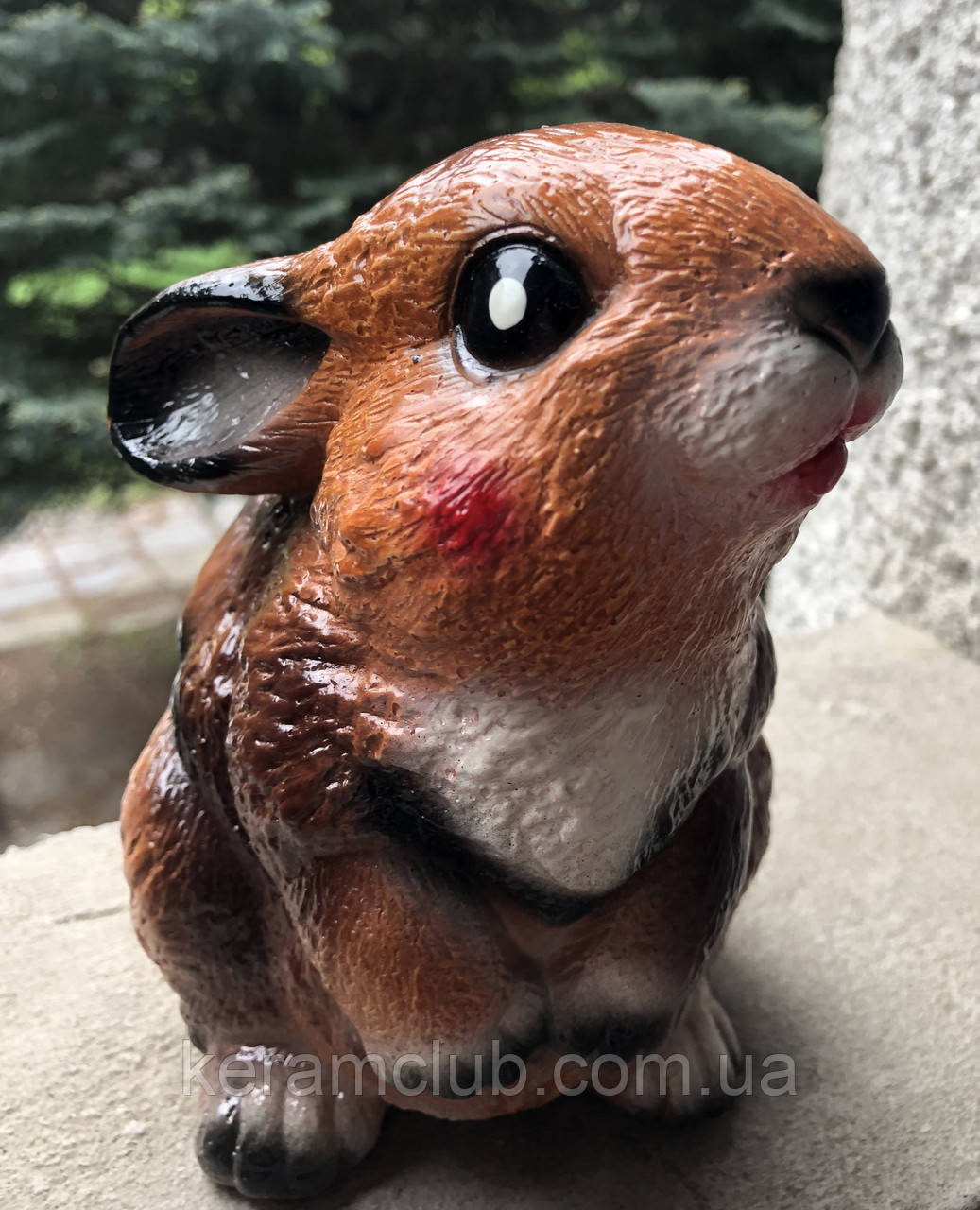 Ландшафтная фигура: кролик коричневый