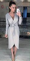 Платье женское стрейчевое на запах  аф123, фото 1