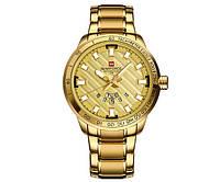 Мужские часы Naviforce 9090 Gold