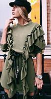 Платье женское с плотного трикотажа  аф121