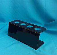 Акриловая подставка под мороженное  рожок 4 отверстия, фото 1
