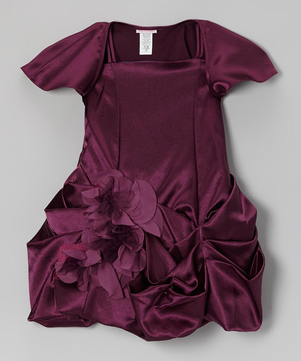 Очень красивое шелковое пышное платье с накидкой (Размер 3-4Т)  Kid's Dream (США)