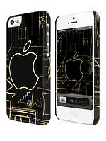 Cases for iphone, Чехол для iPhone 4/4s/5/5s/5с, Apple drawing, чертеж