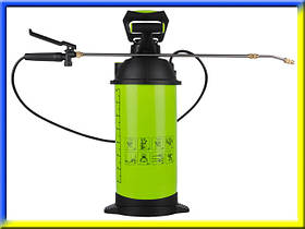Аппарат для опрыскивания растений пневматический с манометром 8 л