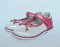 Туфли для девочки. ТМ Шалунишка Ортопед. 25-30 размер. Каблук Томаса, супинатор. Модель 500-117.