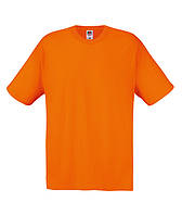 Футболка мужская оптом ORIGINAL Fruit of the loom Оранжевый