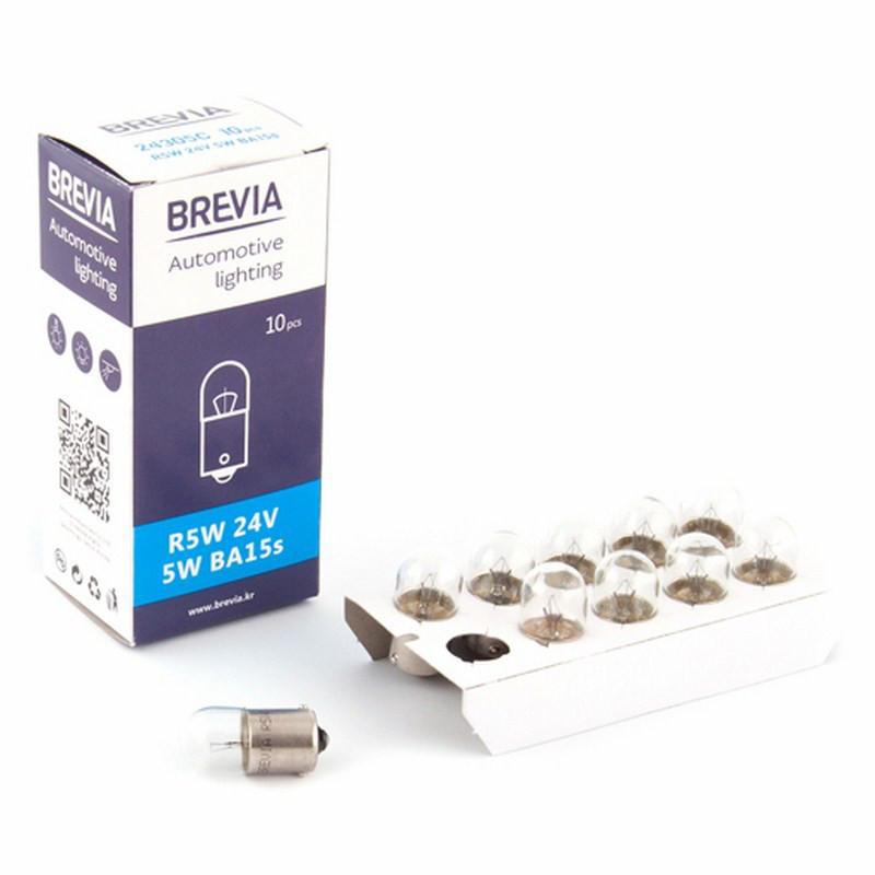 Галогеновая лампа Brevia R5W 24V 5W 24305C