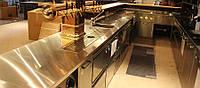 Барные стойки из нержавеющей стали для квартиры и магазина на заказ | Цена барной стойки для кафе и ресторанов, фото 1