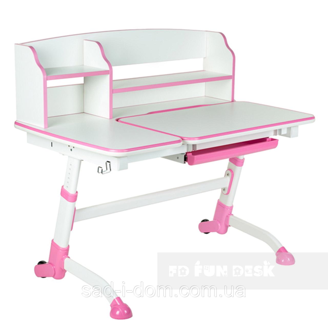 Детская парта-трансформер FunDesk Amare II, розовый