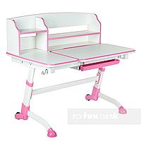 Детская парта-трансформер FunDesk Amare II, розовый, фото 1