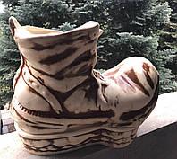 Цветочник Ботинок шамот, фото 1