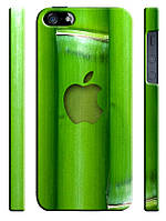 Cases for iphone, Чехол для iPhone 4/4s/5/5s/5с, Apple bamboo, бамбук