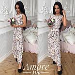 Женское платье -миди с цветочным принтом (5 цветов), фото 5