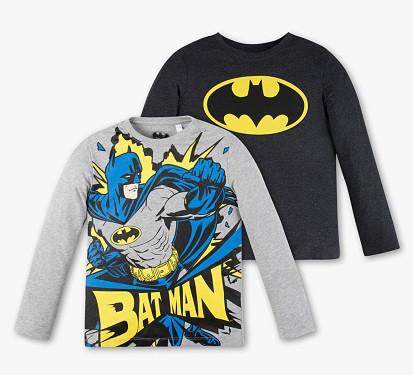 Набор регланов c Бэтменом для мальчика 7-8 лет C&A Германия Размер 128