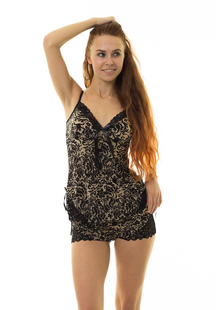 Пижама INDENA Арт.9041 М-L черный