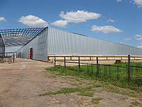 Строительство складов в  Мариуполе