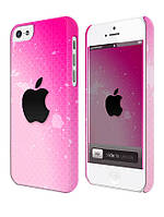 Cases for iphone, Чехол для iPhone 4/4s/5/5s/5с, Apple pink, розовый