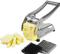 Картофелерезка Potato Chipper прибор для нарезки картофеля фри