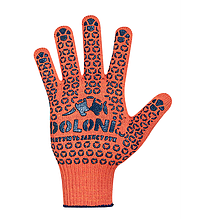 Перчатки Doloni с ПВХ точкой 526