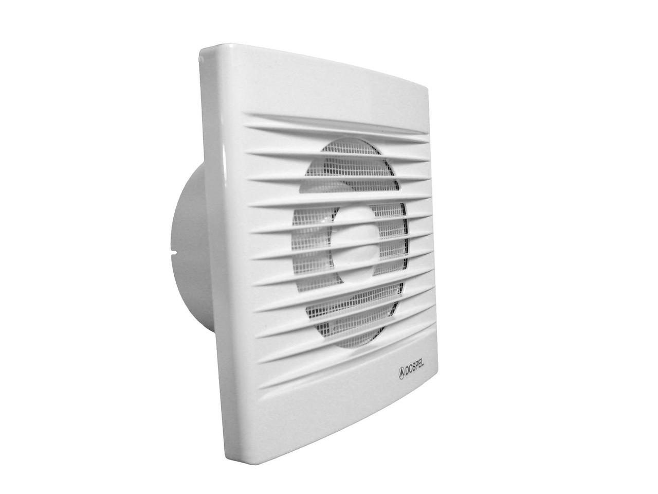 Вентилятор побутовий із зворотним клапаном Dospel STYL 100S-P (007-0001P)