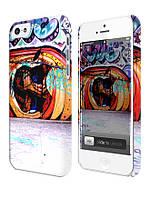 Cases for iphone, Чехол для iPhone 4/4s/5/5s/5с, Apple graffiti, граффити