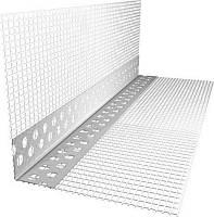 Угол алюм.перфорированный с сеткой  7х7  3м