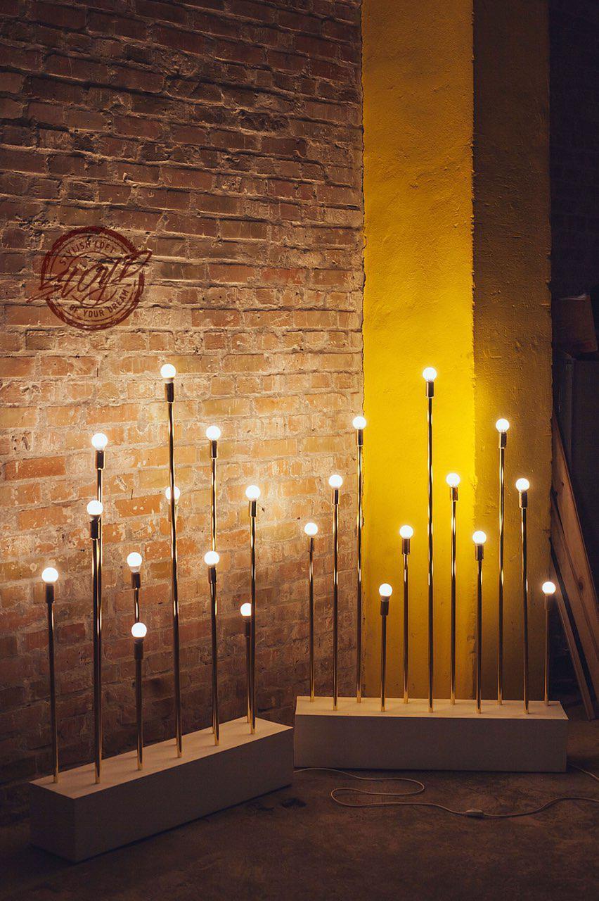 Лампы, декор для праздников, свадебная фотозона, президиум