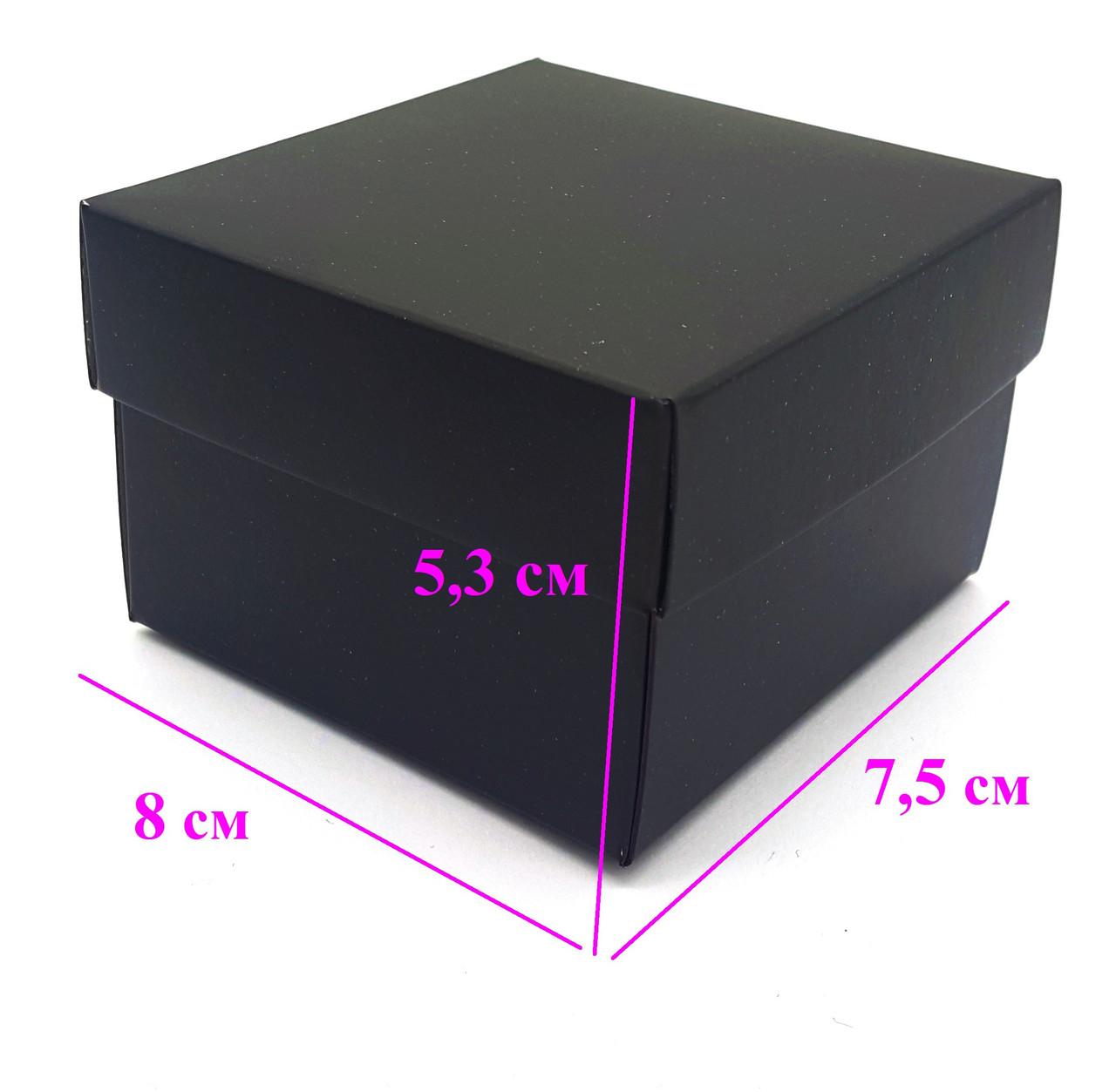 Подарочная Коробка на часы, Черная