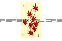 Наклейка   MAPLE LEAF (18х34см)  (N-2908)