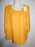Блуза легкая фирменная женская GINA 46-48р.149ж