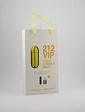 Carolina Herrera 212 Vip edt 3x15ml - Trio Bag