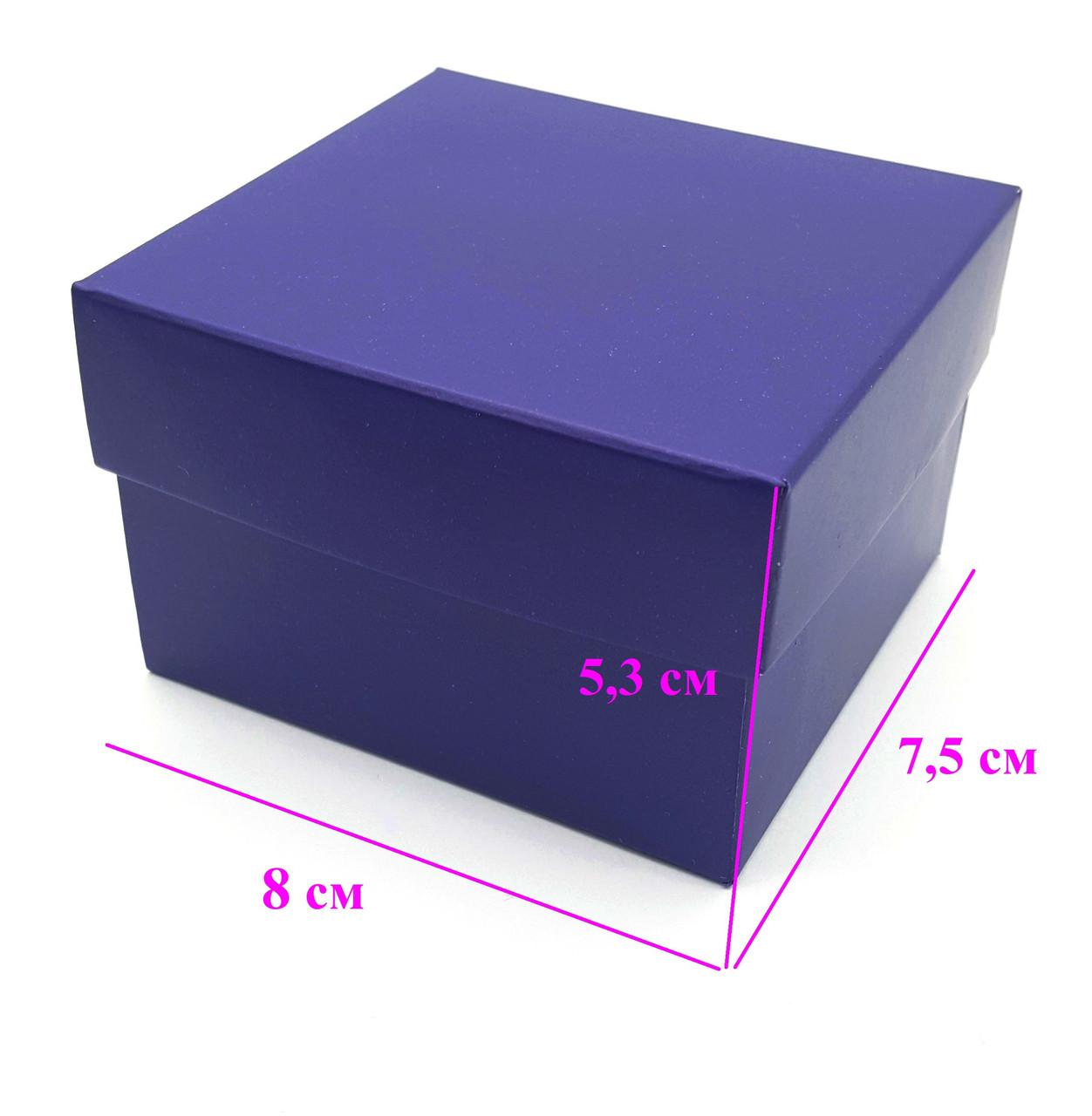 Подарочная коробка для часов, Синяя