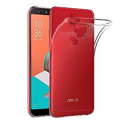 Прозрачный Чехол Asus Zenfone 5 Lite ZC600KL (ультратонкий силиконовый) (Асус Зенфон 5 Лайт Лите)