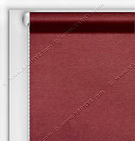 Рулонные шторы Блэкаут Студио вишневый C-419R