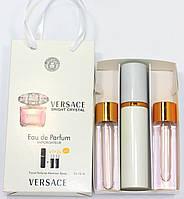 Versace Bright Crystal edt 3x15ml - Trio Bag