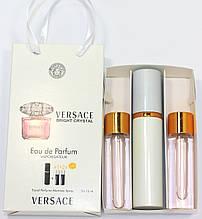 Versace Bright Crystal edt 3x15ml