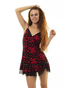 Ночная рубашка INDENA Арт.9003 М-L красный