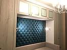 Декоративная панель к кровати в нише, фото 2