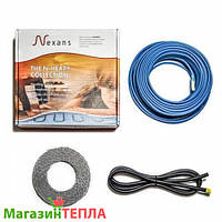 Теплый пол в стяжку Nexans TXLP/1 17W/m (Норвегия) - одножильный нагревательный кабель 23.5м - 2.9м² (400Вт)