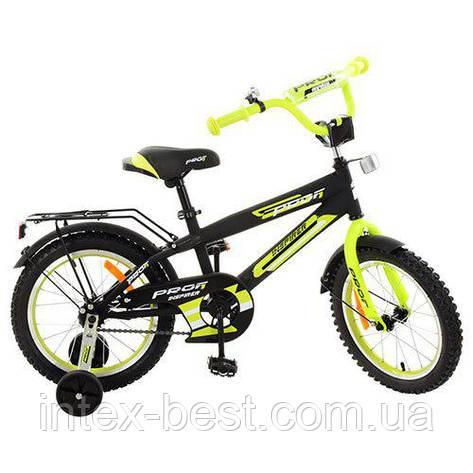 Детский двухколесный велосипед Profi Inspirer Салатовый 16'' (G1651), фото 2
