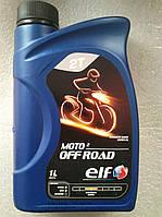 Двухтактное моторное масло ELF 2T moto off Road