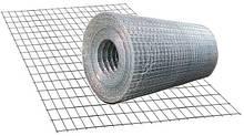 Сетка сварная оцинкованная 1,4мм 25*12мм  30 кв.м