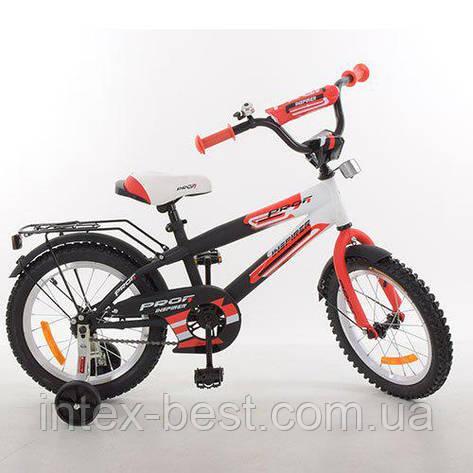 Детский двухколесный велосипед Profi Inspirer Красный 16'' (G1655), фото 2