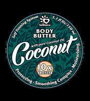 Твердое масло для загара в солярии | Solbianca Coconut с маслом кокоса и бронзаторами 150ml