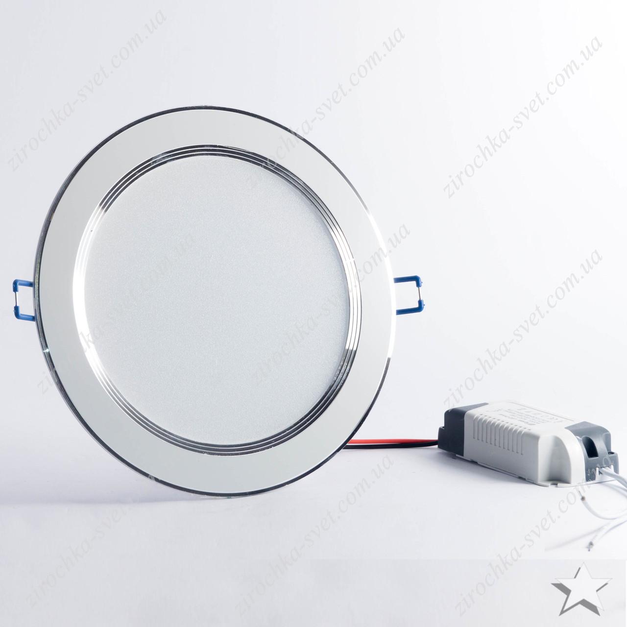 Светильник светодиодный встраиваемый 12w Feron AL527 4000К белый